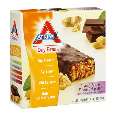Atkins Day Break Peanut Butter Fudge Crisp Bar