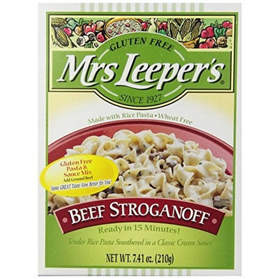 Mrs Leepers Mrs. Leeper's Beef Stroganoff Dinner, 7.41-Ounce Boxes (Pack of 12)