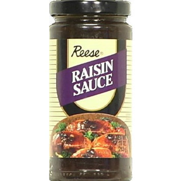 Reese Sauce, Raisin, 10-Ounce (Pack of 6)