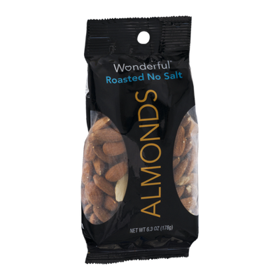 Wonderful Almonds Roasted No Salt