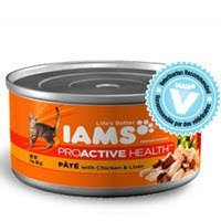 Iams Adult Pate with Chicken and Liver Canned Cat Food