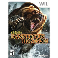 Nintendo Wii Game Cabelas Danger Hunt 13