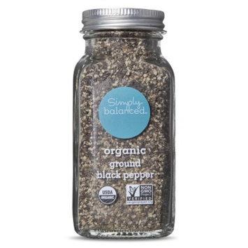 Simply Balanced Organic Ground Black Pepper 3oz