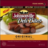 Johnsonville, Deli Bites, Original Summer Sausage, 8oz Bag (Pack of 4)