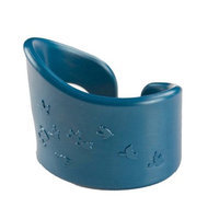 Roundhouse Design Collaborative Oh Plah Teething Bracelet, Harmony Blue