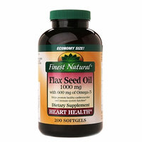 Finest Flaxseed Oil 1000Mg with 700Mg Omega 3