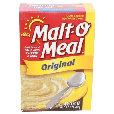 MaltO Meal Malt-O Meal Hot Wheat Cereal, Original, 18 oz