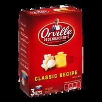 Orville Redenbacher's Gourmet Popping Corn Bags Classic Recipe