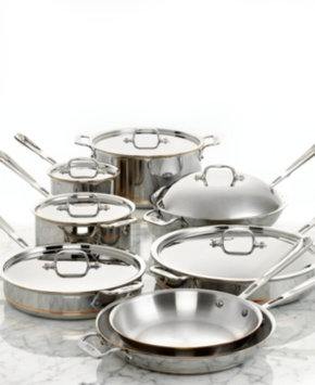 All Clad All-Clad Copper-Core 14-Piece Cookware Set