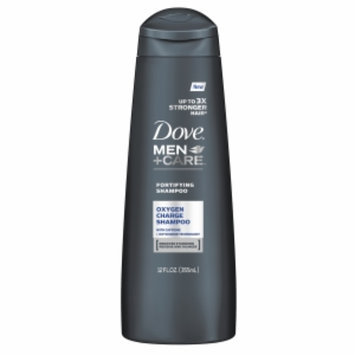 Dove Men+Care Fortifying Oxygen Charge Shampoo, 12 fl oz