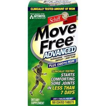 Schiff Move Free Advanced Plus MSM - 180 Tablets