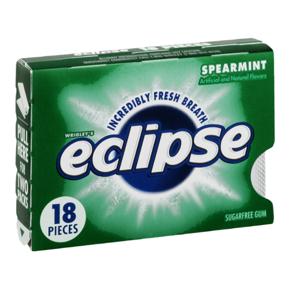 Eclipse Sugarfree Gum Spearmint