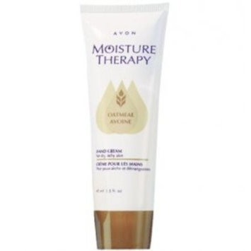 Avon Moisture Therapy Hand Cream Soothing Oatmeal Dry Itchy Skin