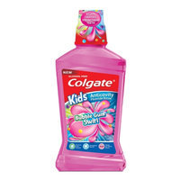 Colgate Kids Mouthwash, Bubble Gum Swirl, 16.9 fl oz
