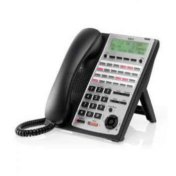 NEC America 1100063 SL1100 24-Button Full-Duplex Tel (Black)