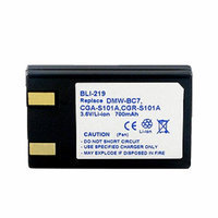 Battery for Panasonic DMW-BC7 (Single Pack) Replacement Battery