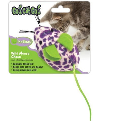 Go! Cat Go OurPets Wild Mouse Chase Cat Toy