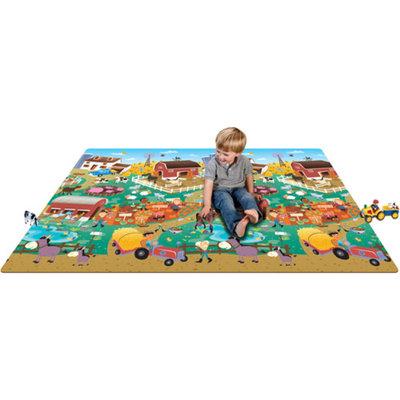 Prince Lionheart Baby Play Mat - City/Farm