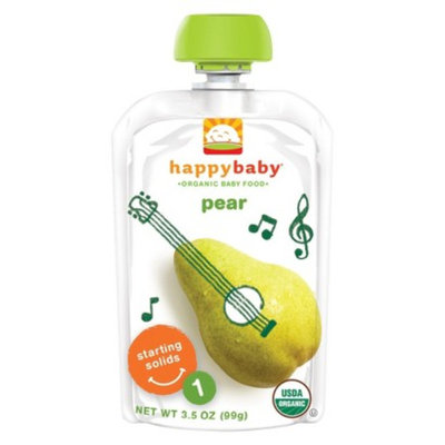 Happy Baby Stage 1 Pears 3.5 oz