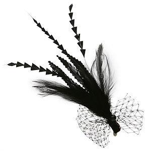 Jane Tran Hair Accessories Feather Clip