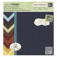 K&Company Paper Pad Imgue Multicolor 12X12