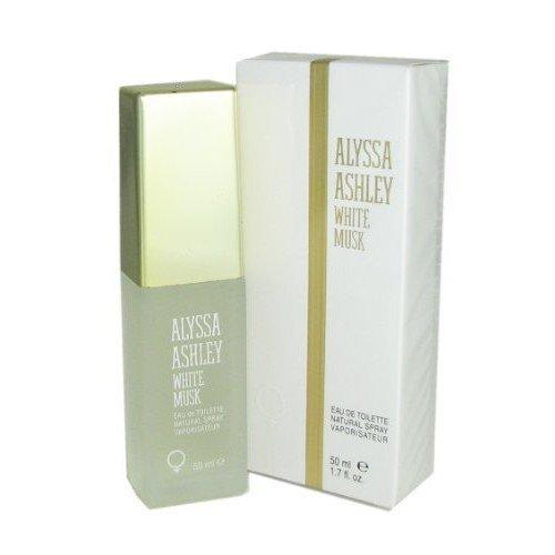 White Musk By Alyssa Ashley Eau De Toilette Spray, 1.7-Ounce