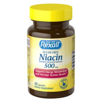 Rexall Niacin Flush Free 500 mg - Capsules, 45 ct