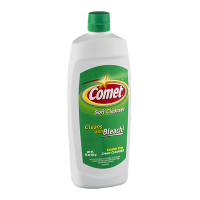 Comet Soft Cleanser with Bleach