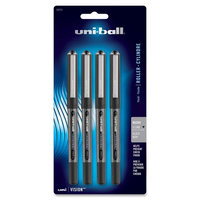 Sanford Vison Stick Rollerball Pens Roller Ball Pen, Gray Barrel