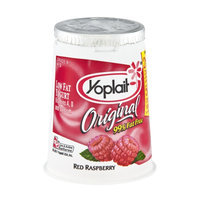 Yoplait Original 99% Fat Free Red Raspberry Low Fat Yogurt