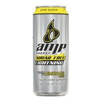 Amp AMP Lightning Lemonade Sugar Free Energy Drink 16 oz