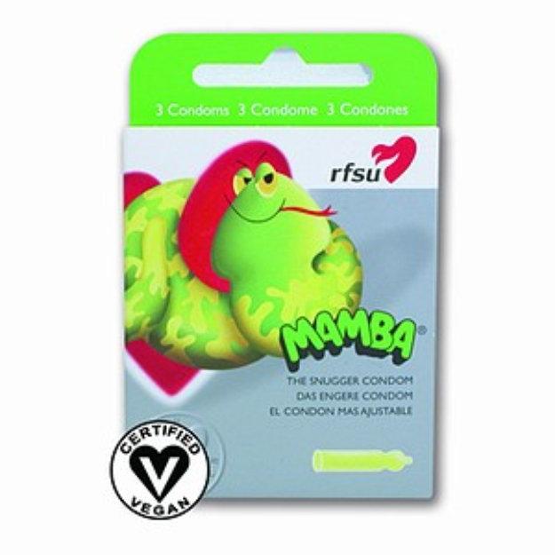 RFSU Condoms, Mamba-Snugger Fit, 3 ea