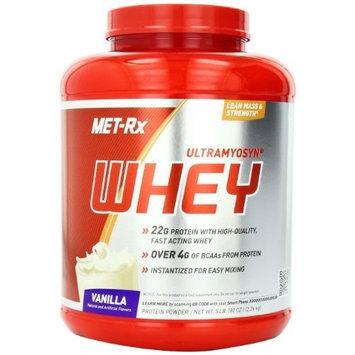 MET-Rx Ultramyosyn Whey, Vanilla, 5 Pound