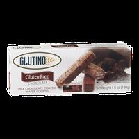 Glutino Gluten Free Milk Chocolate Coated Wafer Cookies