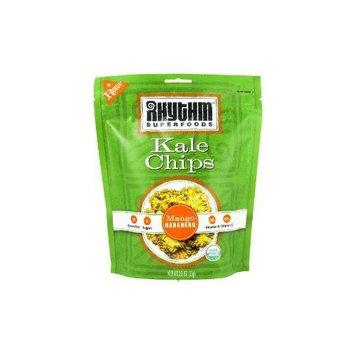 Rhythm Superfoods Llc Rhythm Superfoods Organic Mango Habanero Kale Chips, 2 Ounce -- 12 per case.