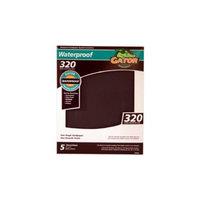 Ali Industries 5PK 9x11 320G Sandpaper