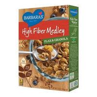 Barbara's Bakery Barbara's High Fiber Medley Cereal, Flax & Granola, 12 Ounce (Pack of 6)