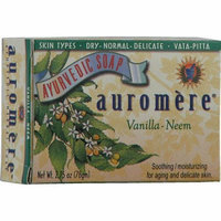 Auromere Ayurvedic Bar Soap Vanilla Neem 2.75 oz
