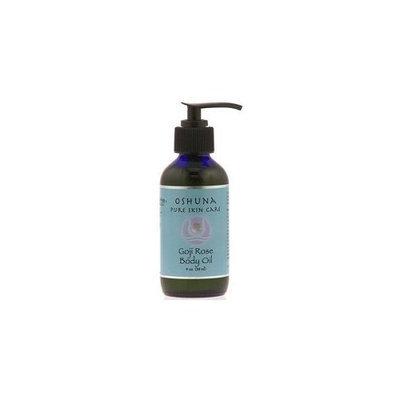 Wiseways Herbals Oshuna Pure Skin Care Goji Rose Body Oil 4 oz