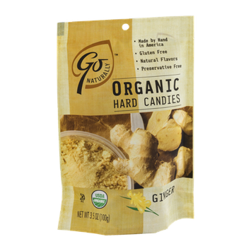 Go Naturally Organic Hard Candies Ginger