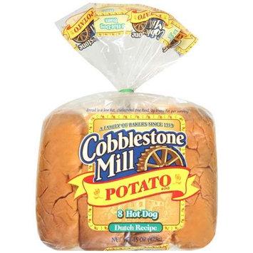 Cobblestone Mill: Buns Potato Hot Dog, 15 Oz