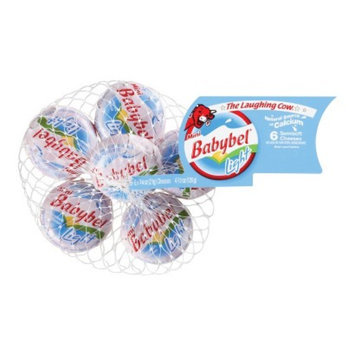 The Laughing Cow Mini Babybel® Light Semisoft Edam Cheeses 6 ct