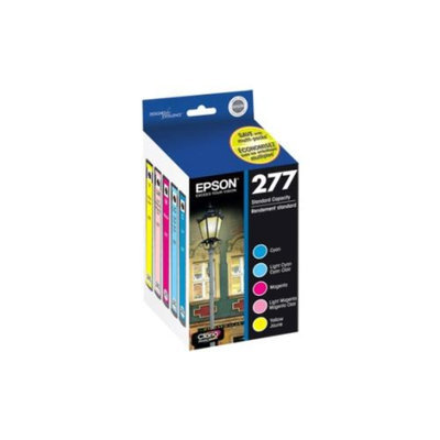 Epson T277920M Multi-Pack Color Ink Cartridges For Epson Expression Photo XP-850 Small-in-One Printer