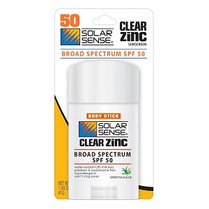 Solar Sense Clear Zinc Body Stick Sunscreen SPF 50