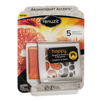 Renuzit Aromatherapy Accents Happy Grapefruit Essence & Bergamot