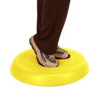 CanDo Aerobic Pad, Yellow, 20 Inch Diameter