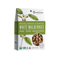 Essential Living Foods - Organic White Mulberries - 8 oz.