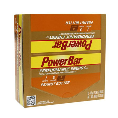 PowerBar Performance Energy Bars Peanut Butter