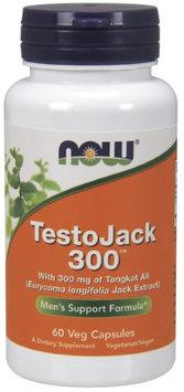 NOW Foods TestoJack 300 60 Veg Capsules