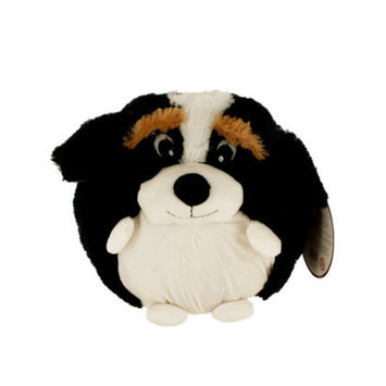 Bulk Buys OD317 Puffy Plush Mountain Dog - 6-Pack